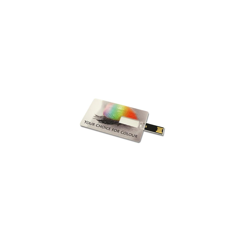 Memorystick creditcard